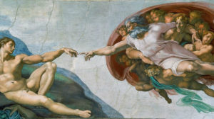 michelangelo teremtes fresko vallas templom