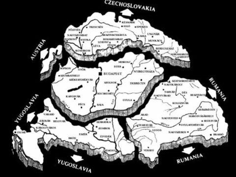 Trianon terkep map