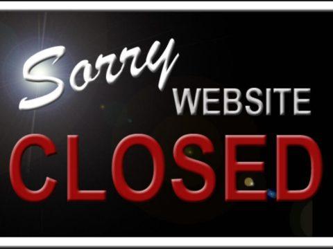website closed weboldal megszunik bezar