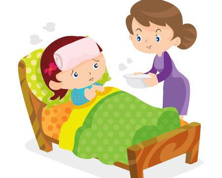 beteg gyerek anya apol